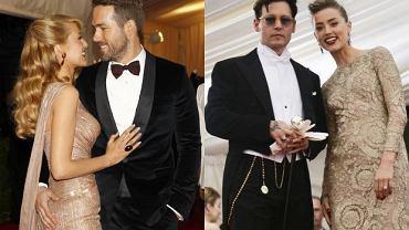Blake Lively i Ryan Reynolds, Johnny Depp i Amber Heard