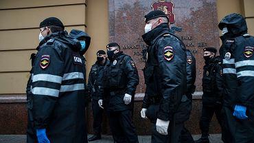 Przeciwko brutalności policji protestują ostatnio moskwianie. We wtorek funkcjonariusze zatrzymali 20 uczestników jednoosobowych pikiet