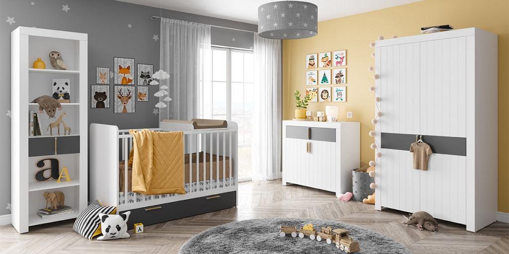 Żółte dodatki do pokoju dziecka w ciepłym, miodowym odcieniu