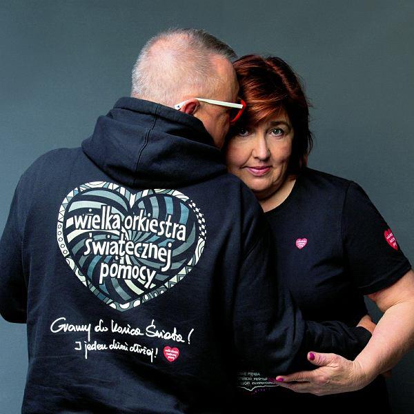 Lidia Niedźwiedzka-Owsiak i Jurek Owsiak