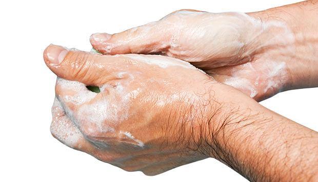 Poradnik: co zrobić, by nie chorować, Myj ręce, będziesz zdrów