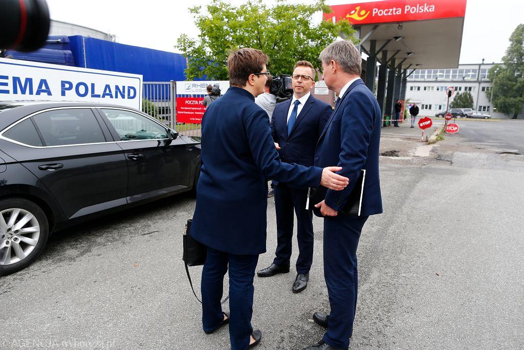 Rozpoczęcie kontroli poselskiej ws. tzw. pakietów Sasina w Łodzi