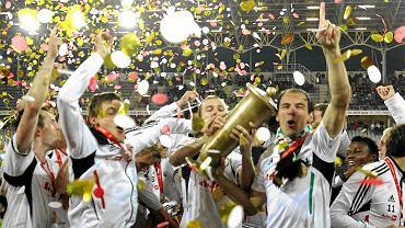 Radość Legii po zdobyciu Pucharu Polski