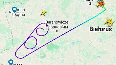 Francja nie wpuściła białoruskiego samolotu. Jest zakaz lotów nad Polską