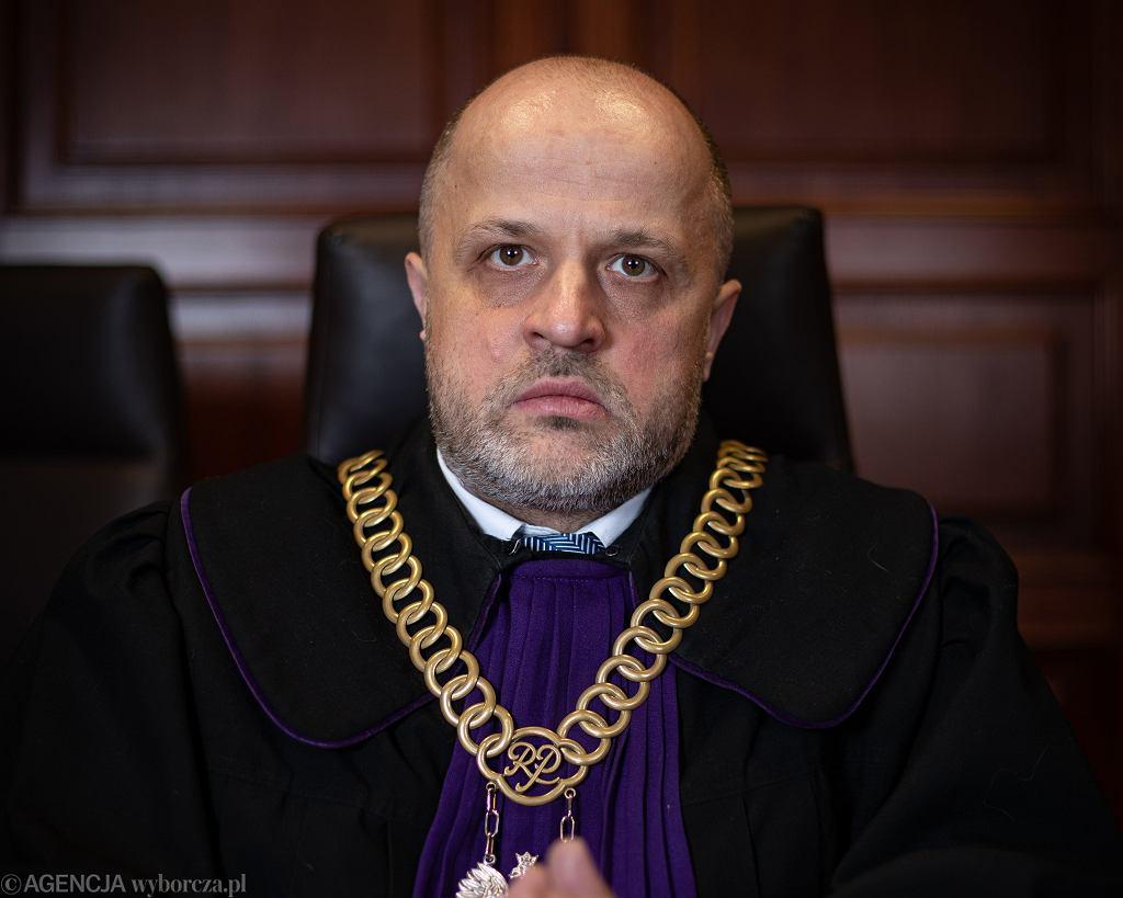 Sędzia Piotr Gąciarek