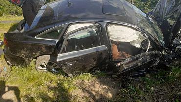 Tragiczny wypadek na trasie Zgorzelec-Bogatynia. Zginęło trzyletnie dziecko, cztery osoby zostały ranne, w tym kobieta w ciąży.