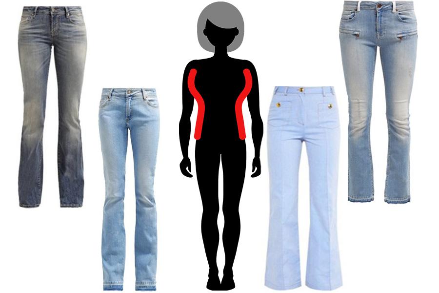 Idealne jeansy dla dziewczyn o dużym biuście