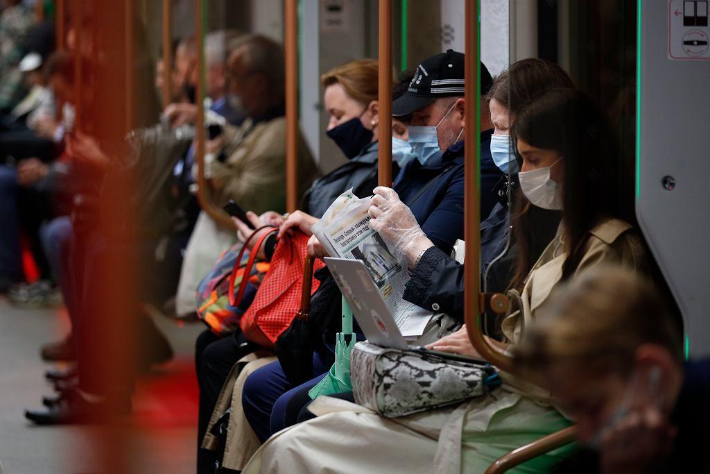 Rosja. W Moskwie od 13 czerwca nadzwyczajne ograniczenia antywirusowe