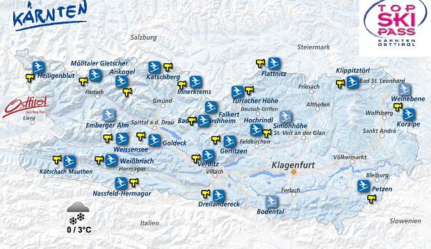 narty w austrii, karyntia, villach