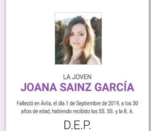 Joana Sainz nie żyje