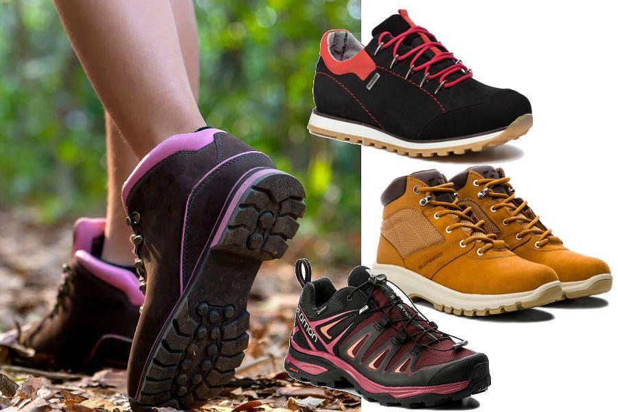 Damskie buty trekkingowe dla wielbicielek jesiennych