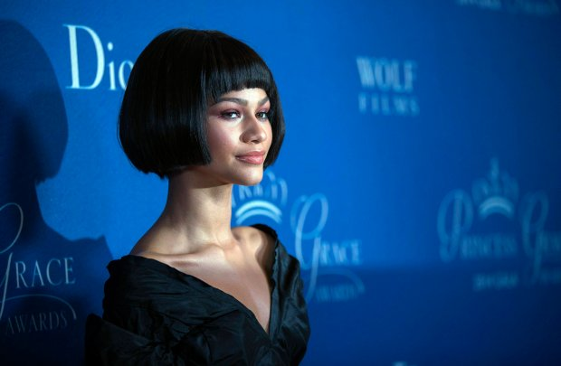 `Actress and singer Zendaya poses at the 2014 Princess Grace Awards gala at the Beverly Wilshire Hotel in Beverly Hills, California October 8, 2014. The Princess Grace Foundation-USA is a non-profit foundation dedicated to help emerging talent in theater, dance, and film by awarding grants.  REUTERS/Mario Anzuoni  (UNITED STATES - Tags: ENTERTAINMENT)