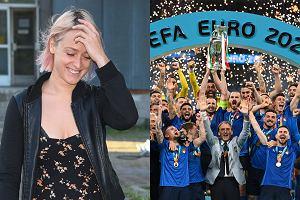 """Euro 2020. Matylda Damięcka komentuje wygraną Włochów. """"Piękny gest Sycylii i Sardynii"""". Nie wszyscy zrozumieli, o co chodzi"""