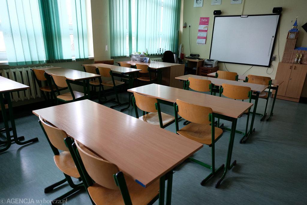 Szkoła zamknięta z powodu epidemii