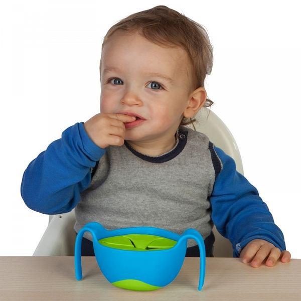 Kubek niewysypek - idealne rozwiązanie gdy dziecko zaczyna samodzielnie jeść