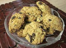 Ciasteczka owsiane z żurawiną - ugotuj