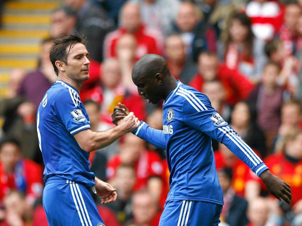 Frank Lampard i Demba Ba