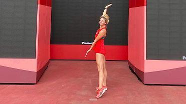Lekkoatletka Kornelia Lesiewicz (AZS AWF Gorzów) na igrzyskach olimpijskich w Tokio
