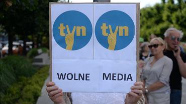 We wtorek o godz. 18 w całym kraju odbędą się demonstracje w obronie TVN