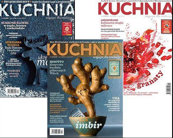 Wyróżnione okładki Magazynu Kuchnia