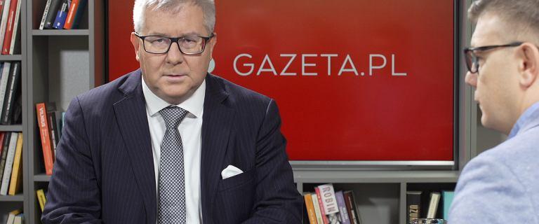 Ryszard Czarnecki o próbach opozycji przejęcia senatorów PiS.