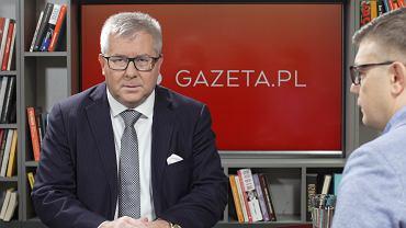 Poranna rozmowa Gazeta.pl. Europoseł PiS Ryszard Czarnecki