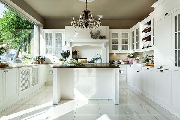 Jaka Podłoga Do Białej Kuchni Wnętrzaaranżacje Wnętrz