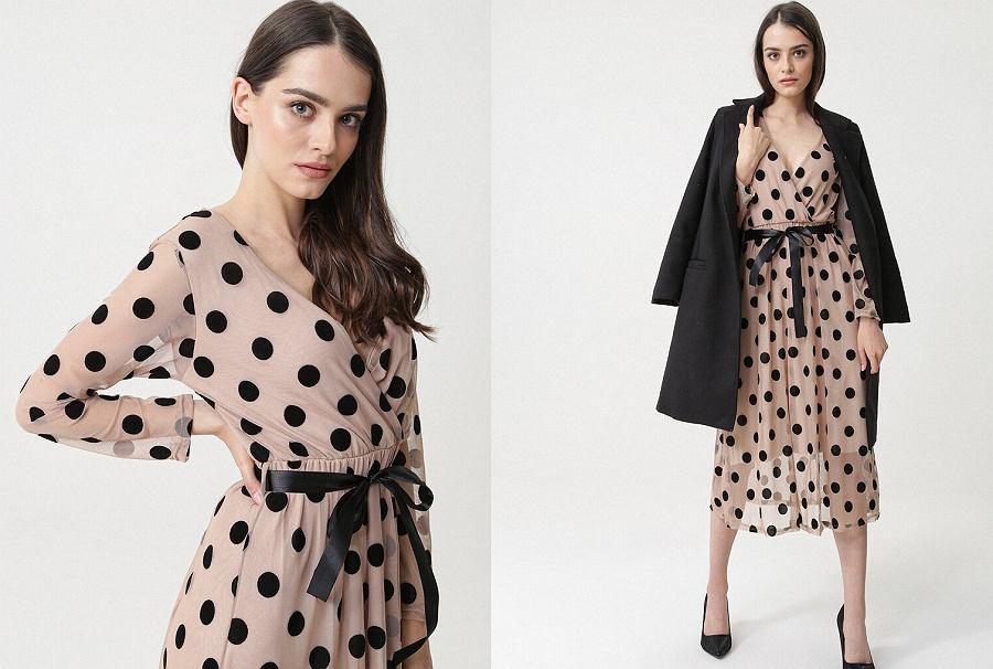 Sukienki w groszki - kolekcja Born2be
