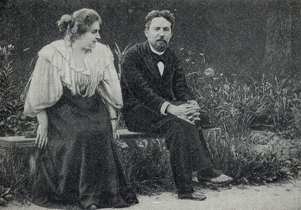 Lika Mizinowa z Antonem, Mielichowo 1897 rok / Fot. Wikimedia Comons/domena publiczna