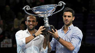 Juan Sebastian Cabal i Robert Farah z trofeum dla najlepszej pary deblowej sezonu 2019
