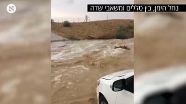 Powódź w Izraelu