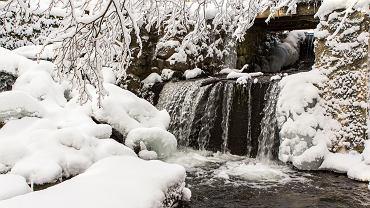Zima w Suwalskim Parku Krajobrazowym.