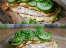 Croque Monsieur. Francuski tost Wersja Dietetyczna - ugotuj