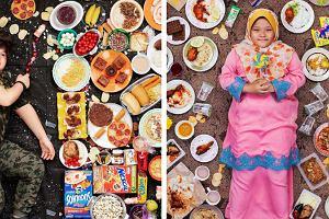 Niezwykła sesja zdjęciowa. Pokazuje diety dzieci z różnych części świata i związane z nimi historie
