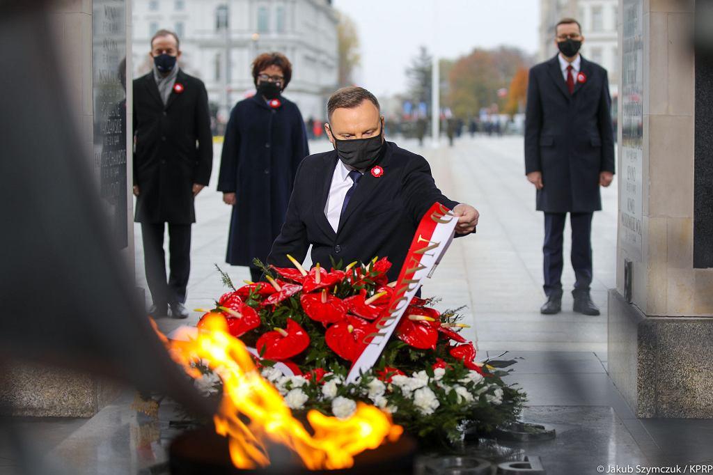 Andrzej Duda uczestniczył w uroczystościach z okazji Narodowego Święta Niepodległości