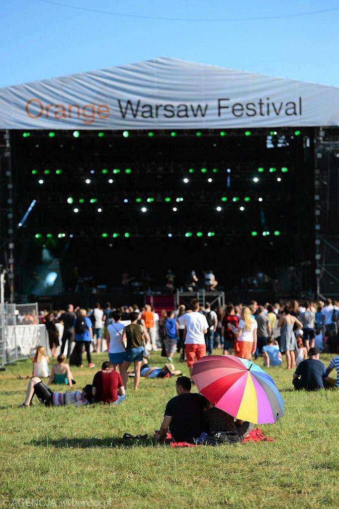 Drugi dzień Orange Warsaw Festival na Służewcu / FRANCISZEK MAZUR