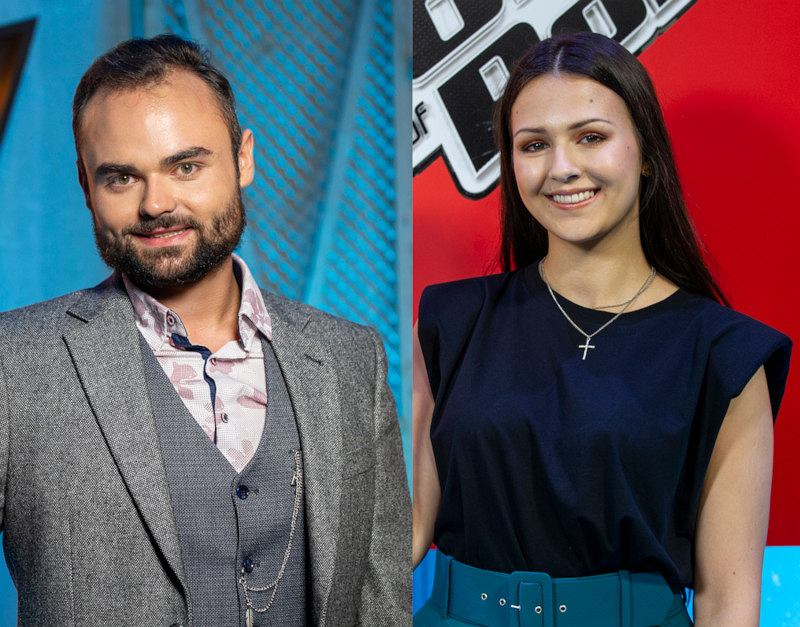 Michał Matuszewski i Martyna Zygadło z 'The Voice of Poland'