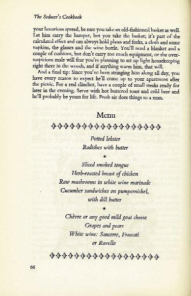 The Seducers cookbook