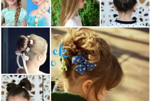 Krótkie Fryzury Dla Małych Dziewczynek Niemowle Dziecko