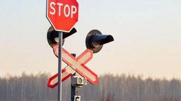 Przejazd kolejowy - zdjęcie ilustracyjne
