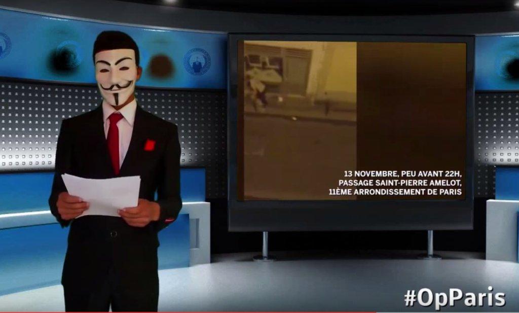 Anonymous wypowiada wojnę IS