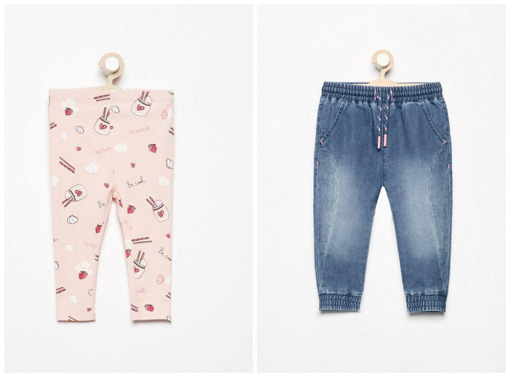 spodnie dziecięce Reserved baby