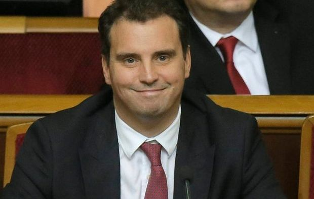 Aivaras Abromavicius, szef resortu gospodarki Ukrainy