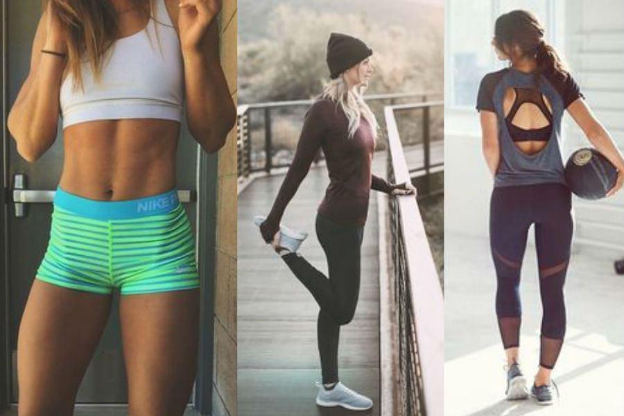 fot. stylizacje idealne na siłownie