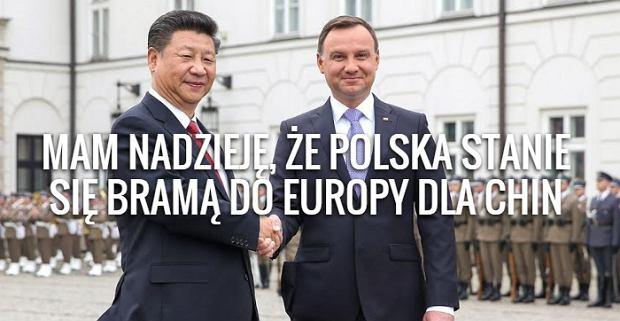Wizyta Xi Jinpinga w Polsce