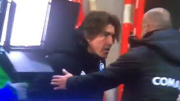 Ricardo Sa Pinto i Michał Probierz po meczu Legia - Cracovia