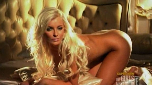 PHOTO: SPLASH NEWS/EAST NEWS Hugh Hefner's new girlfriend Crystal Harris wowed in a test shoot to become a Playboy Playmate while twins Kristina and Karissa Shannon learned to pole dance for a movie part. The 20-year-old blondes have been offered a small role in the new Sophia Coppola movie starring Stephen Dorff and needed to impress with their sexy moves. During the episode of Girls of the Playboy Mansion, Crystal also won Hef's all-important seal of approval with a series of scorching hot photos and now hopes to make it into the 12 playmates to grace the next Playboy calendar.   Pictured: Crystal Harris Ref: SPL137978  081109   Picture by: E!/Splash News      Splash News and Picture Agency does not claim any Copyright or License in the attached material. Any downloading fees charged by Splash are for Splash's services only, and do not, nor are they intended to, convey to the user any Copyright or License in the material. By publishing this material , the user expressly agrees to indemnify and to hold Splash harmless from any claims, demands, or causes of action arising out of or connected in any way with user's publication of the material.