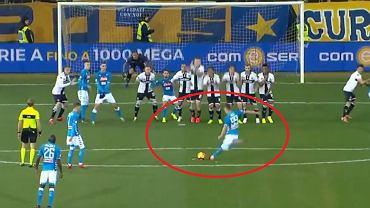 Gol Arkadiusza Milika dla Napoli