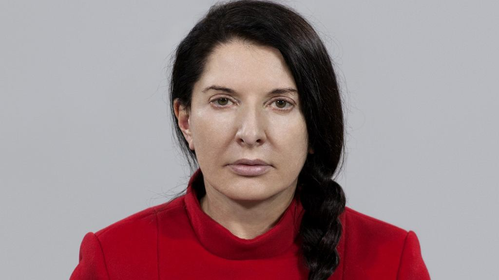 Marina Abramović, performance 'The Artist is Present', Museum of Modern Art, Nowy Jork, 2010