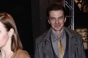 Marcin Kwaśny z żoną